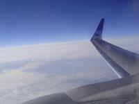 Flight to Newark - Clouds